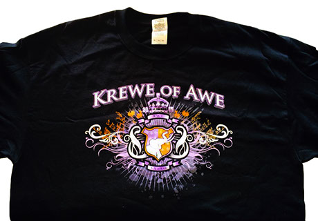 Krewe of awe t-shirt